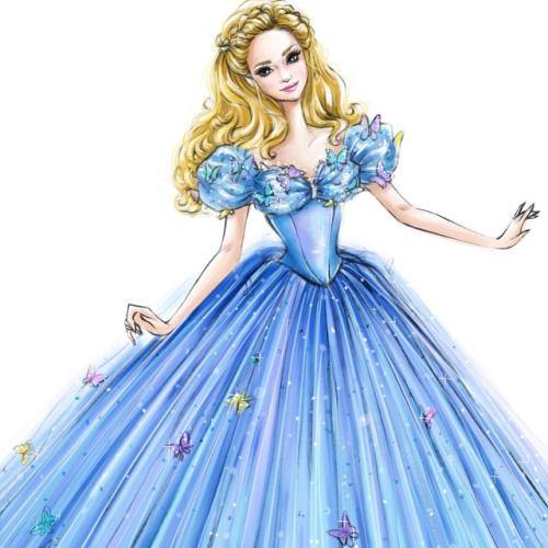 Girl In A Dress Drawing Tumblr