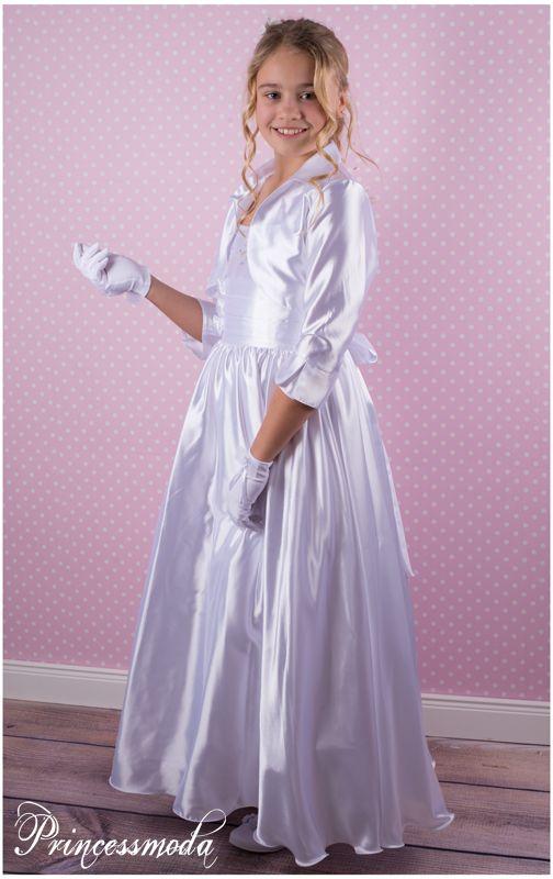 Emk 2 traumhaftes festkleid mit passendem bolero princessmoda alles f r taufe kommunion - Festliche kleider kommunion ...