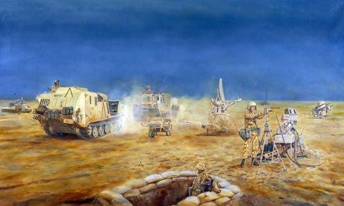 12 Air Defence Regiment Royal Artillery: Gulf War