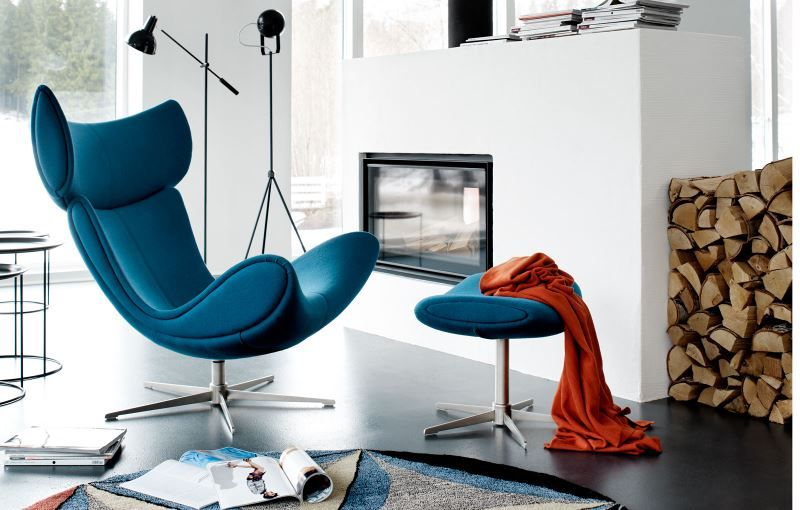 love the eye catching and on trend blue felt upholstery. Black Bedroom Furniture Sets. Home Design Ideas