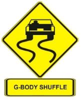 G Body Shuffle Car Jokes Chevrolet Monte Carlo Body