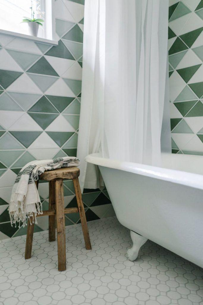 houten-krukje-badkamer - Badkamer inspiratie | Pinterest - Houten ...