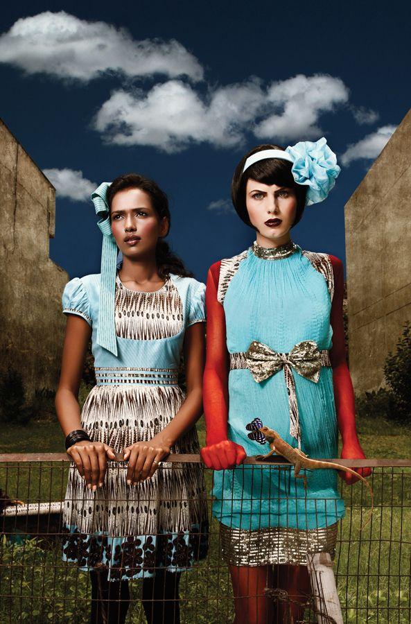 Hemant and Nandita on Fashion Served
