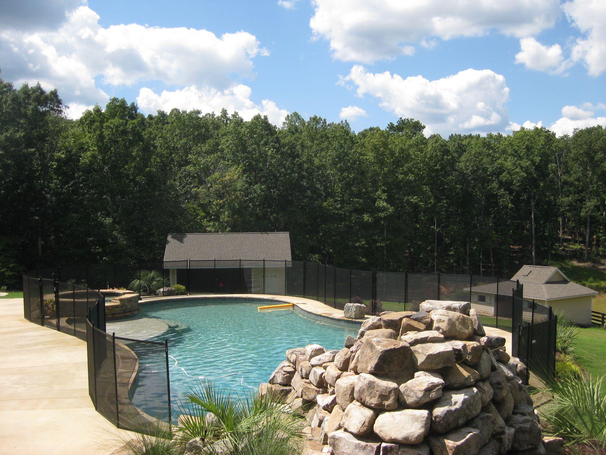 Now that is a safe backyard backyard