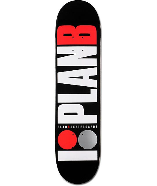 55d97d4d465 The Team OG skate deck from Plan B has a good shape and tons of pop no  matter what type of terrain you skate. Tested and designed by Plan B pros  Tory ...