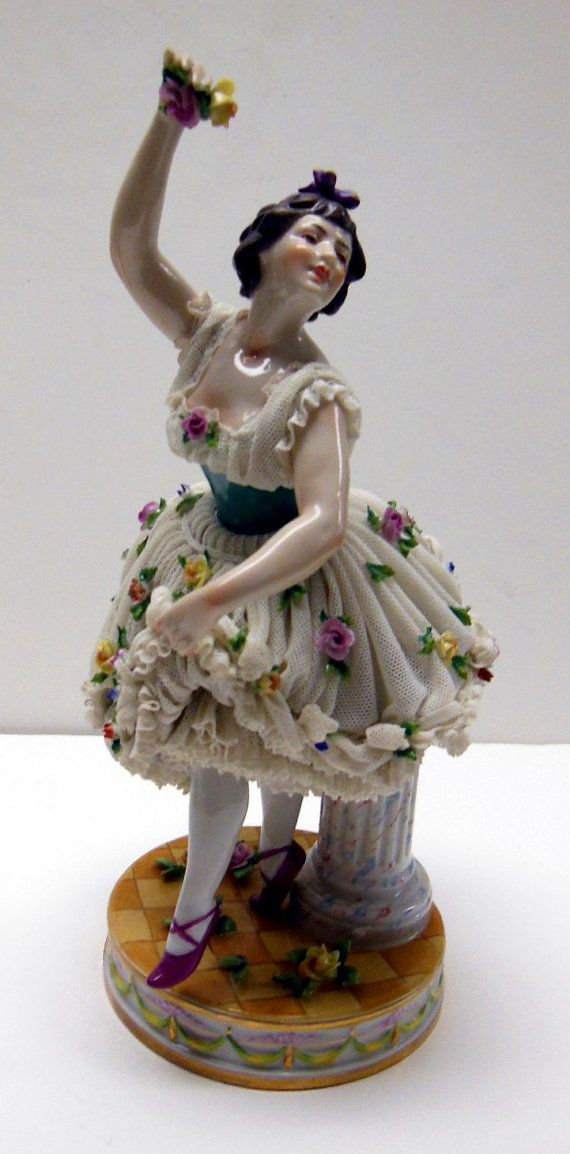 Antique Aelteste Volkstedt Dresden Ballerina Figurine on Etsy, $285.00