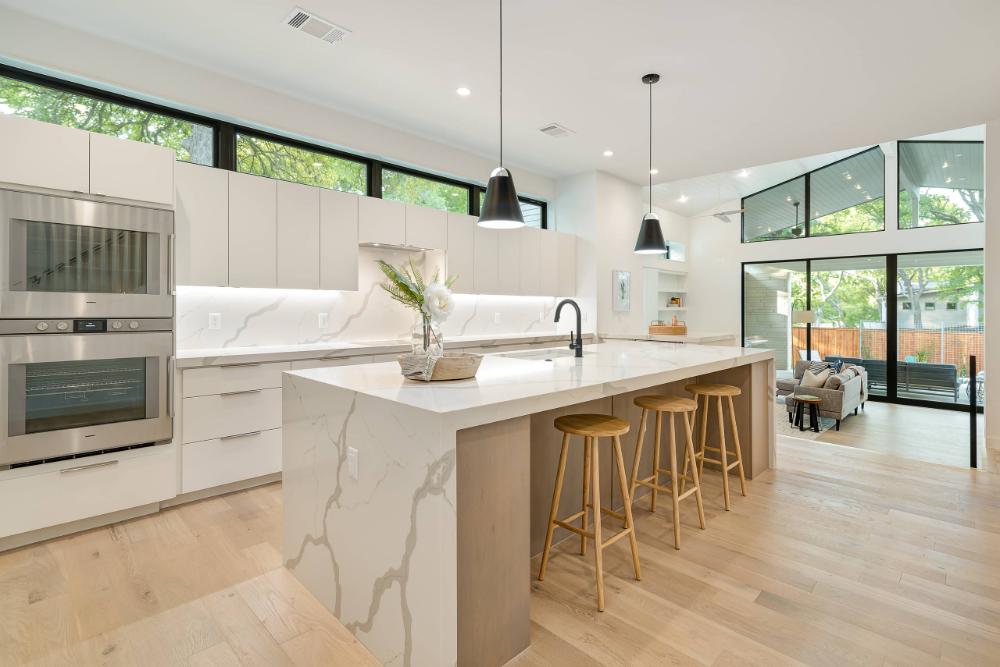 Cedarview Residence Scandinavian Kitchen Austin by