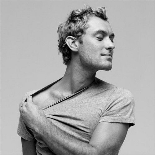 Jude Law, FOR REAL THIS TIME.  photo by Inez Van Lamsweerde