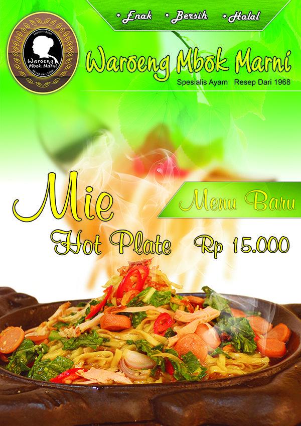 Mie Hot Plate Waroeng Mbok Marni Resep Ayam Mie