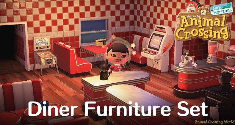 Animal Crossing New Horizons Acnh Guides Unlocks Crafting Upgrades Items Visitors Animal Crossing Retro Diner Animals
