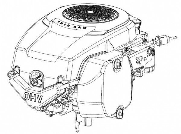 Kohler Courage SV530 Vertical Crankshaft Engine Service