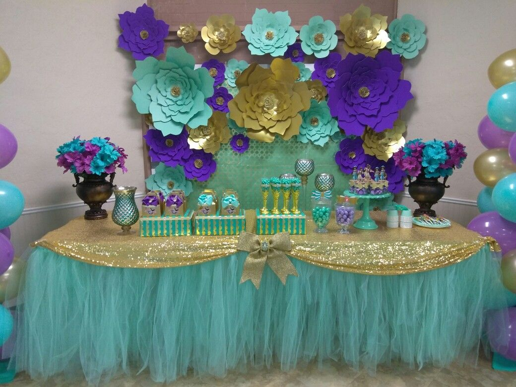 My Daughter S Princess Jasmine Theme Party Annibet Crafts And