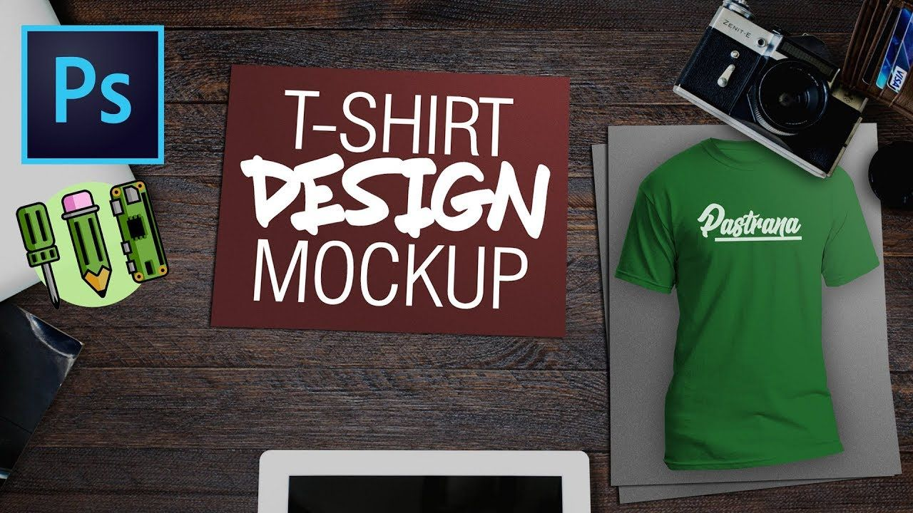Photoshop T Shirt Design Mockup Engineering Design Mockup Tutorial