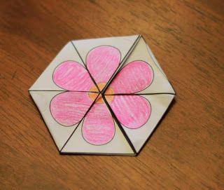 Earth tri-hexaflexagons! - momgineer