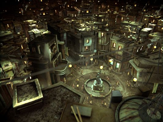The Pandora Society The City Of Ember Film Review In 2020 City Of Ember Underground Cities City