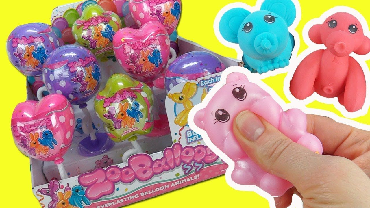 Zooballoos Squishy Balloon Pets Full Box Opening Ultra Rare Found To Christmas Toys For Girls Unicorn Toys Diy Crafts For Teens