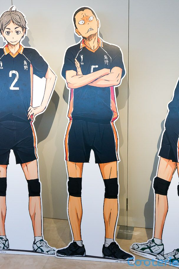 Haikyuu Tanaka Ryunosuke Karasuno High School Volleyball Club Lifesize Cardboard Cutouts Haikyuu Anime Anime Haikyuu