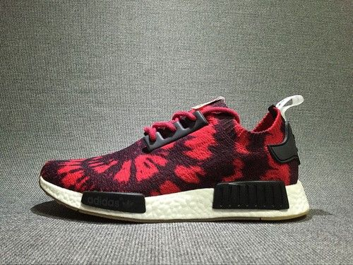 Men's adidas NMD Runner Casual Chaussures AQ4791 Noir Rouge Spider Man