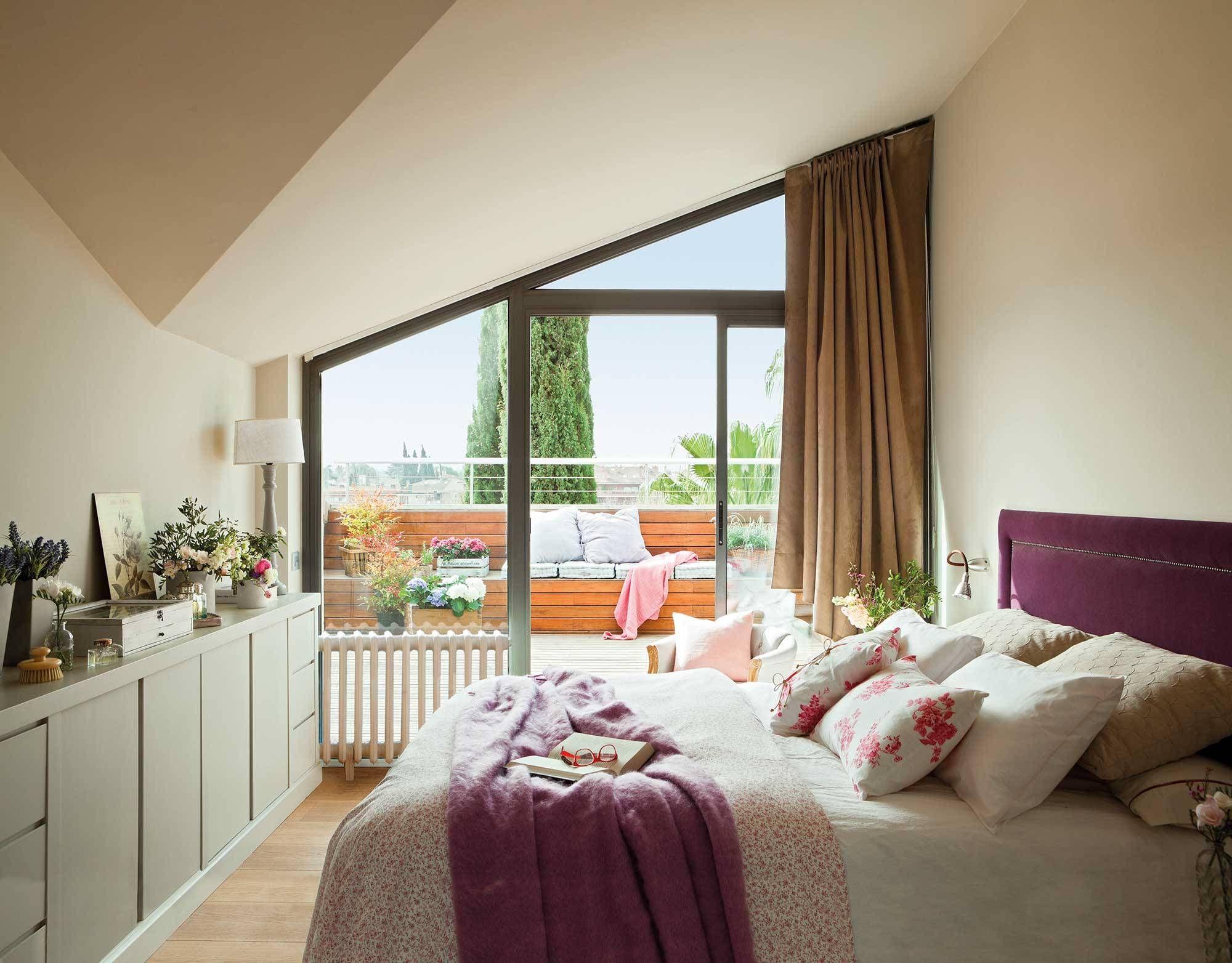 Un Dormitorio Para Disfrutar Del Exterior Todo El Ano Dormitorios Decoracion De La Habitacion Cuartos