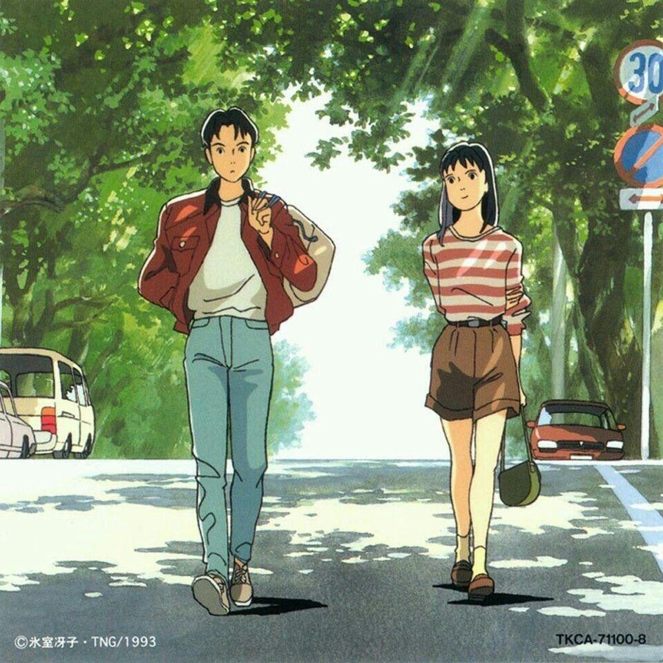 RPGs & Other Things — Ocean Waves (1993) Ghibli art