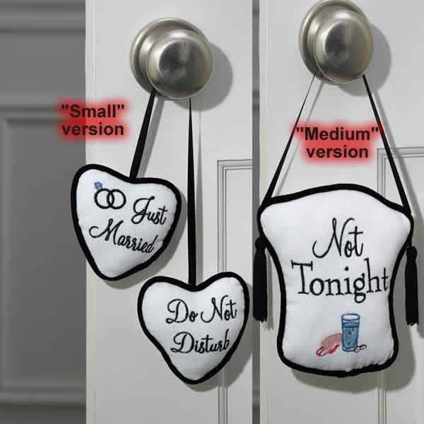 Gift Basket For Bride And Groom Wedding Night: Honeymoon Do Not Disturb Door This Is A Honeymoon Gift