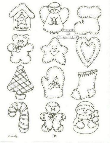 Calendrier Pinterest.Noel Pour Calendrier Education Pinterest Felt Patterns