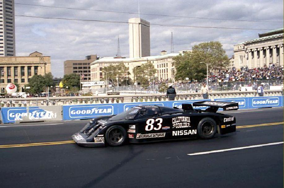 Tony Adamowicz, 8485 Nissan GTP ZX, IMSA Nissan