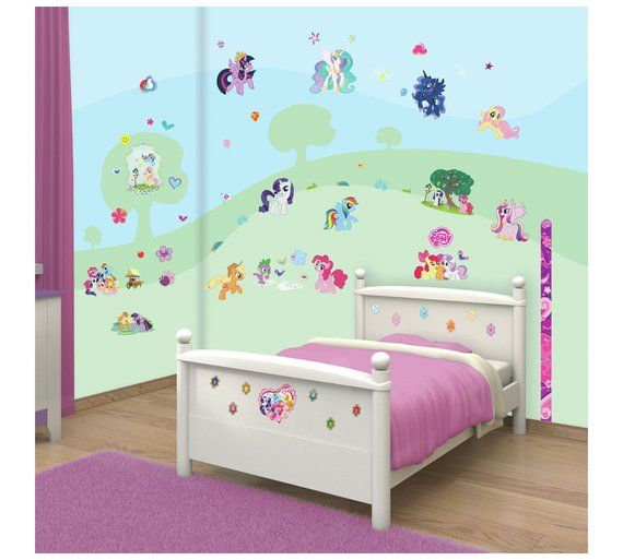 Buy Walltastic My Little Pony Room Decor Kit At Argos Co Uk Visit