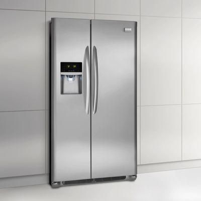Frigidaire Gallery 26 Cu Ft Side By Side Refrigerator In