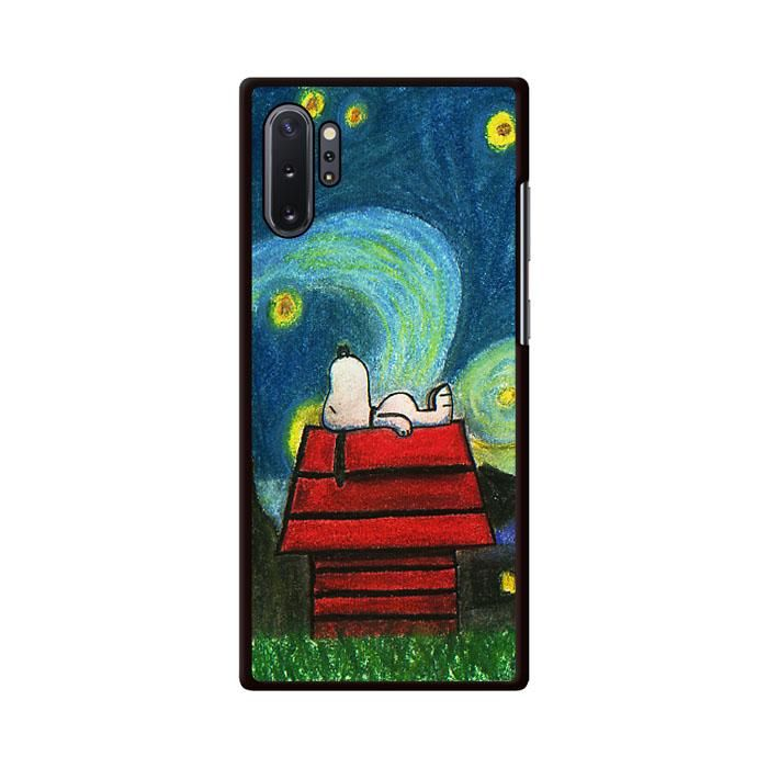 Starry Night Snoopy Samsung Galaxy Note 10 Plus Case