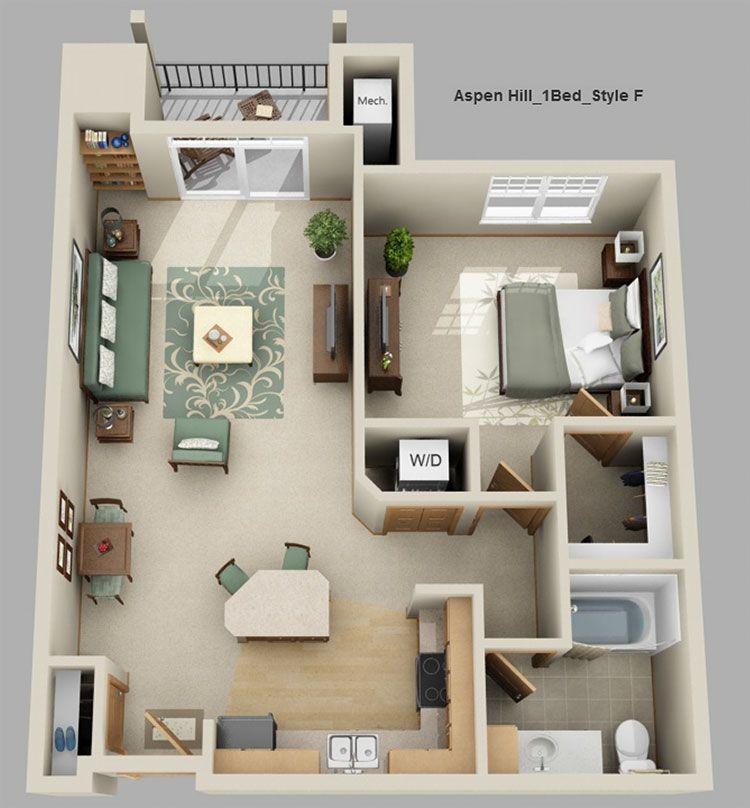 Studio Apartment At T R Mckenzie Inc Aspen Hill Verona