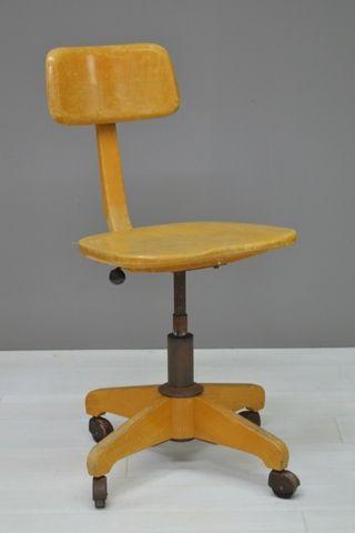 Industriele Bureau Stoel.Industriele Bureaustoel Industrial Desk Chair 20796 Meubels