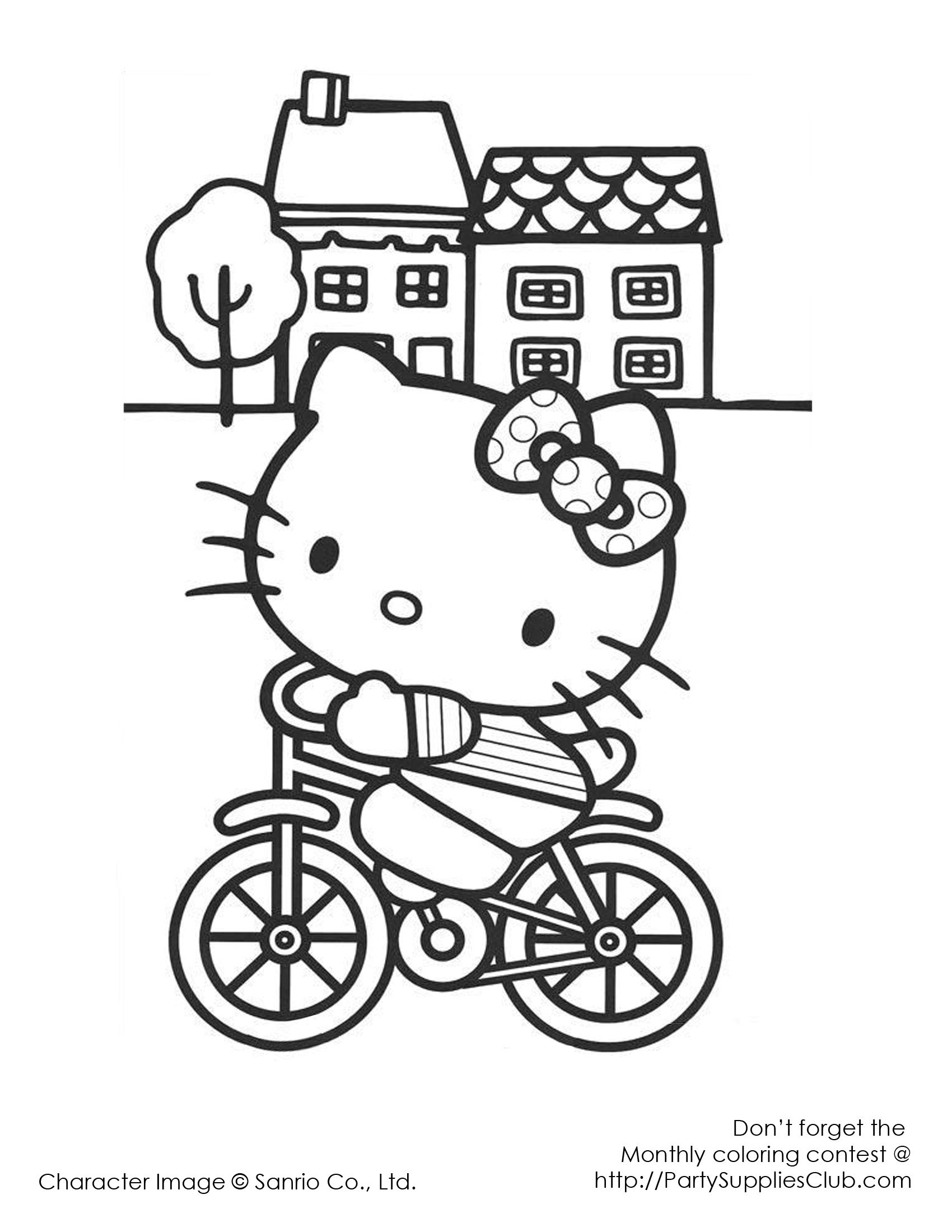 Hello Kitty Bicycle