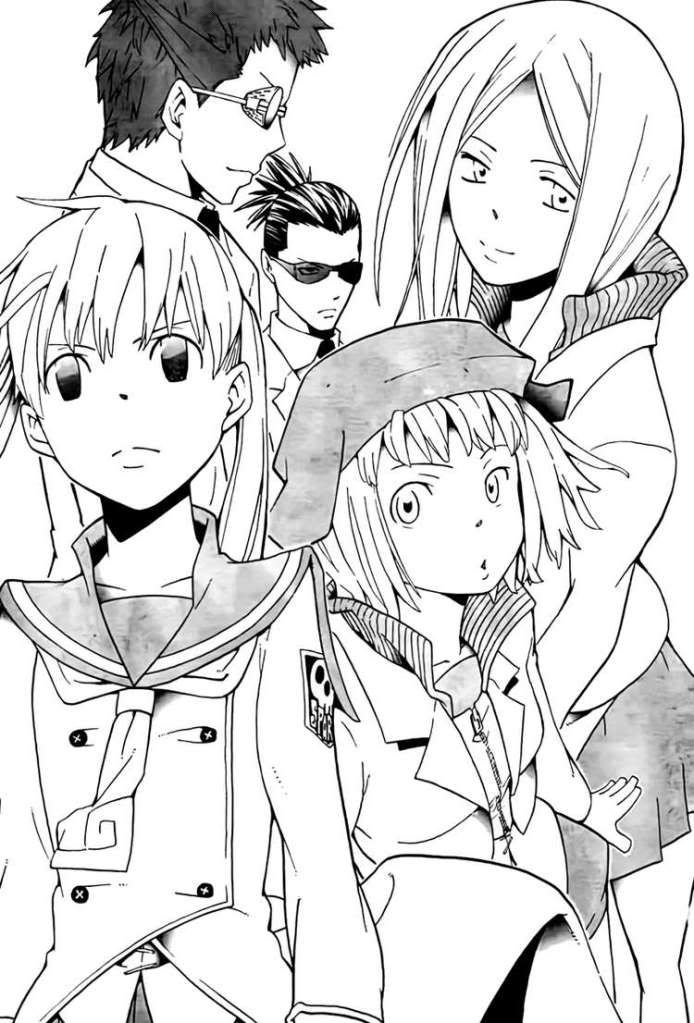 """ Soul Eater Maka & Liz & Patty & Ox & Harvar """
