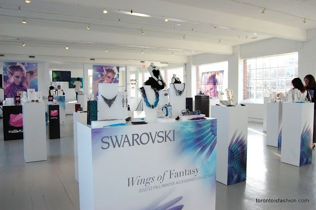 A Visit to the Swarovski Fashion Suite at TIFF the Swarovski Fashion Suite, set up on the occasion of the 2013 Toronto International Film Festival (TIFF). Autumn/Winter 2013 collections one-of-a-kind Catwalk Collection pieces