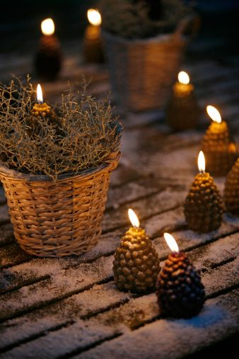 outdoor winter party candle ideas    #winter  #party  #candle  #ideas