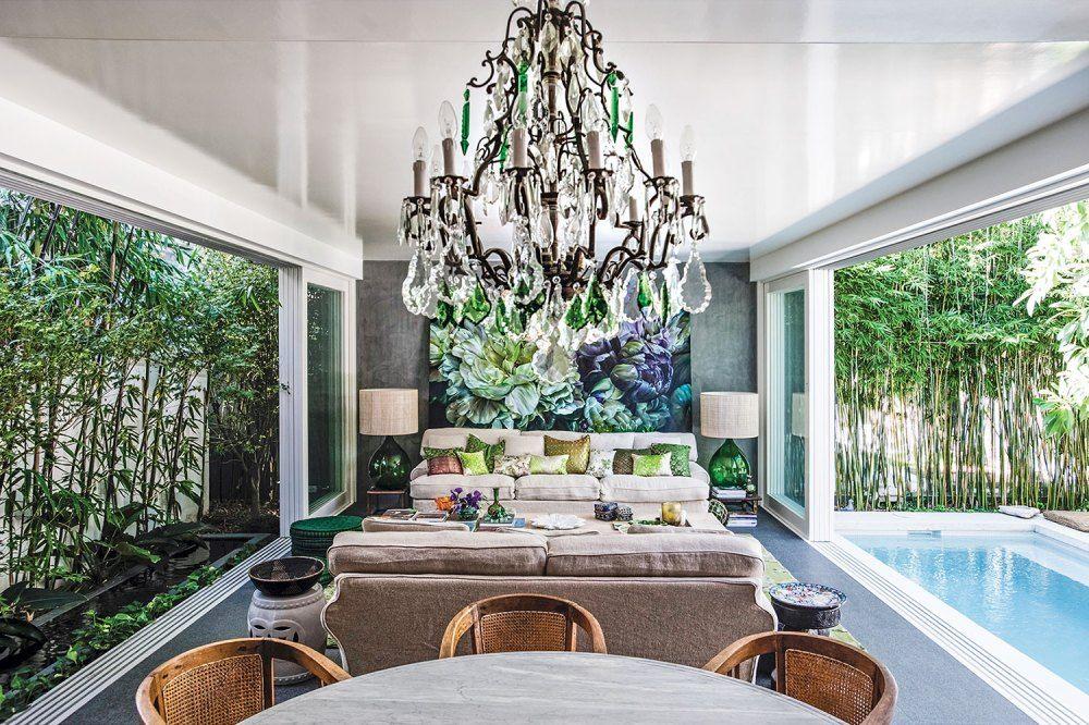 Living Plein Air An Artfully Designed OpenAir Home in