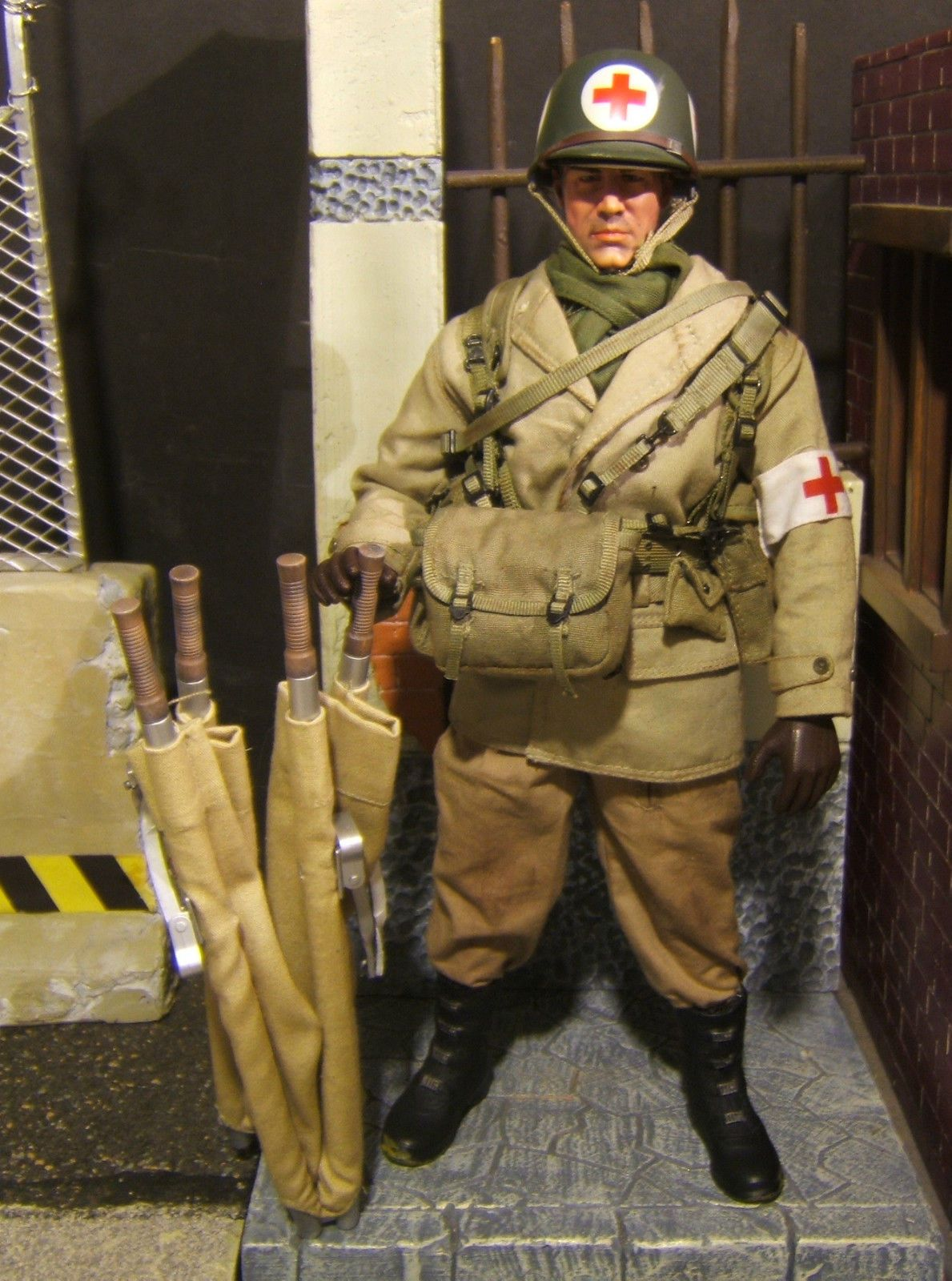 1 6 Scale Wwii Us Army Medic Quot Doc Peterson Quot Custom Action