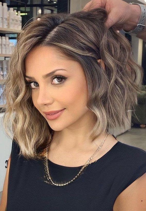 54 Beautiful Ways To Rock Brown Hair This Season :