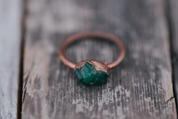 Photo of Electric Emerald Ring