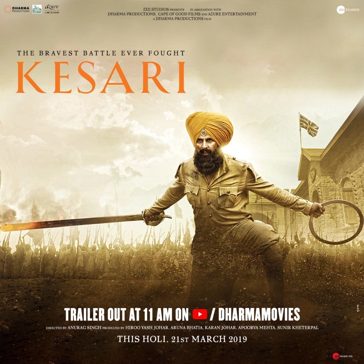 Kesari Full Movie Watch Online 2019 Download Free Movies Online