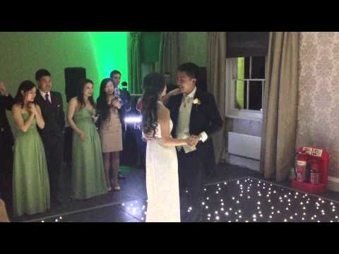 Botleys Mansion Wedding Christina Perri A Thousand Years First Dance Viennese