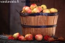 omenasato  jos sulla tulee omenoita yli oman tarpeen niin laita mulle laatikollinen tulemaan ;)