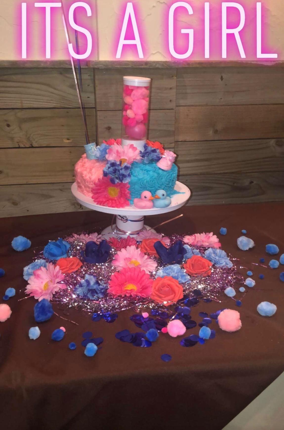 Surprise Cake Musical Popping Cake Stand fashionwolrd