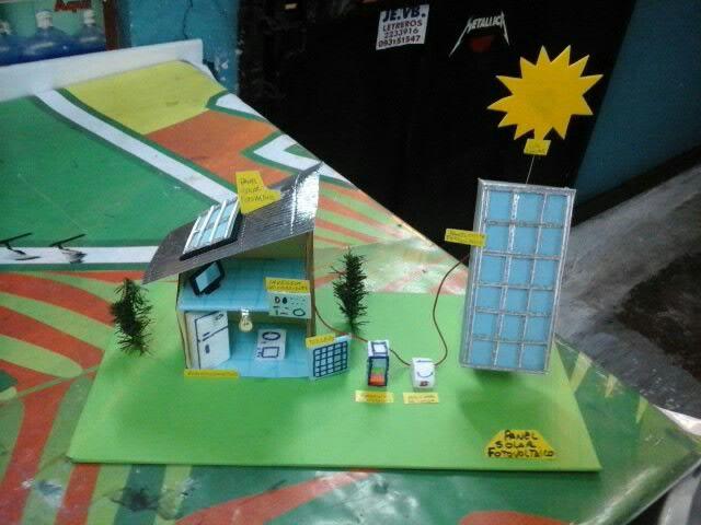 Panel Solar Casitas Miniaturas Paneles Solares