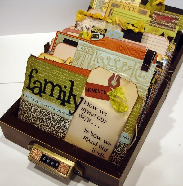 Family Moments Library Tray by Kerrybarker @2peasinabucket