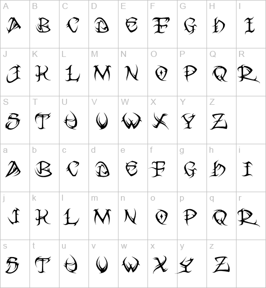 Tribal Letter Bing Images Beautiful Tribal Letters Tattoos