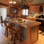 Western Home Decor with Wide Plank Flooring