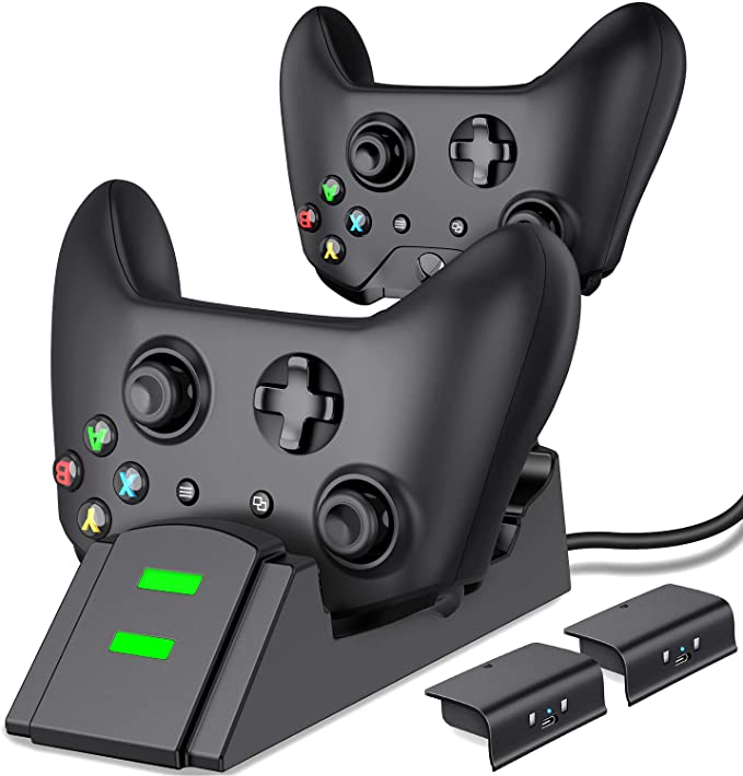 Amazon Com Controller Charger For Xbox One Controller Charging Station Compatible With Xbox One X S E Xbox One Controller Xbox One Xbox One Elite Controller