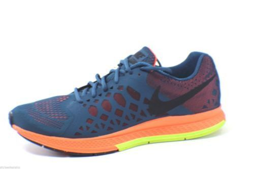 9bc46a2a3432 Men s NIKE ZOOM Air Pegasus 31 Running Shoes Space Blue Black Neon Size 11